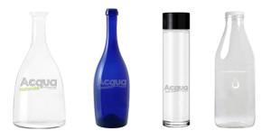 bottiglie personalizzate per acqua alla spina nei