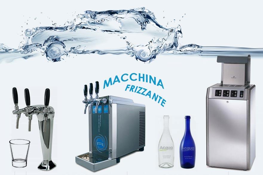 Macchina per acqua frizzante - Distributori Acqua alla spina per Bar Ristoranti  H2O