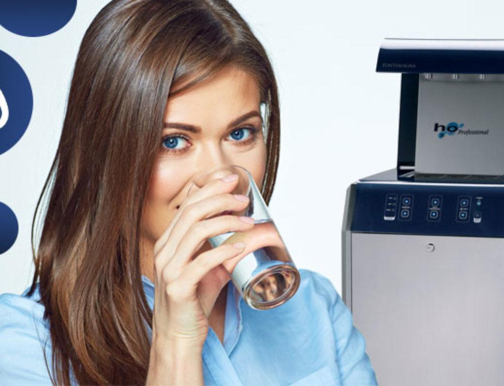 Erogatori che forniscono acqua Frizzante a casa, negli uffici e nei ristoranti