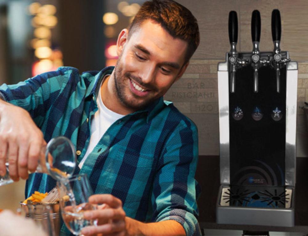 Acqua al ristorante con H2O