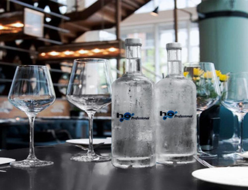 Acqua trattata al ristorante